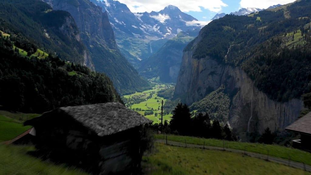 Valley of Lauterbrunnen