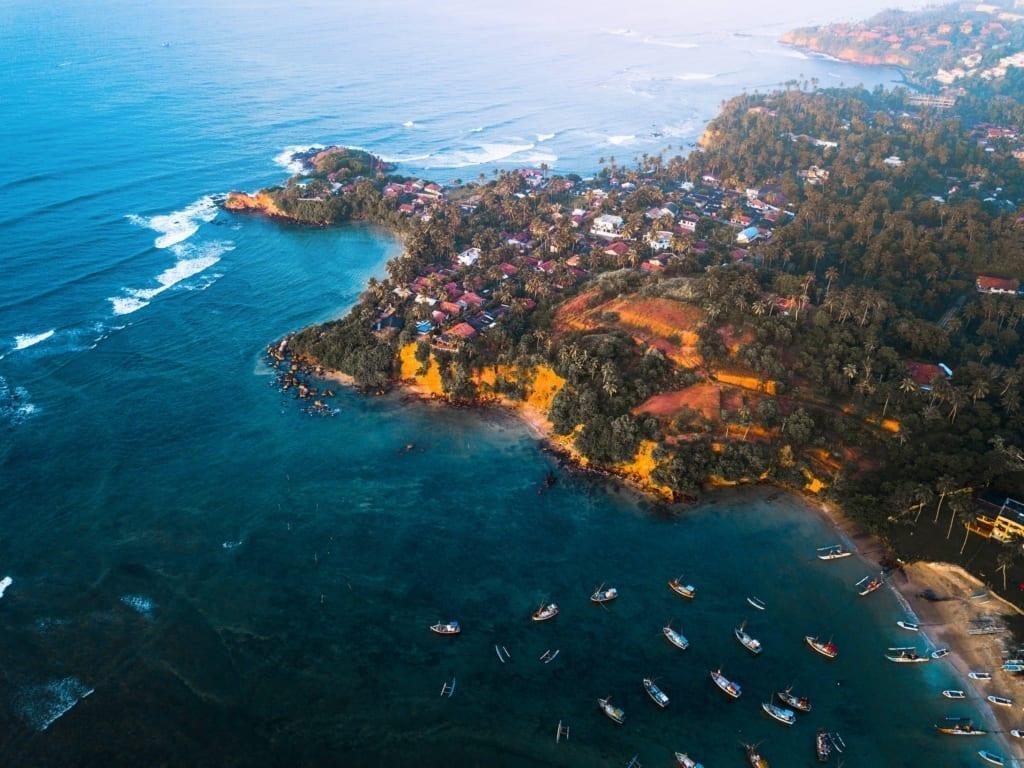 Weligama - Surfing in Sri Lanka