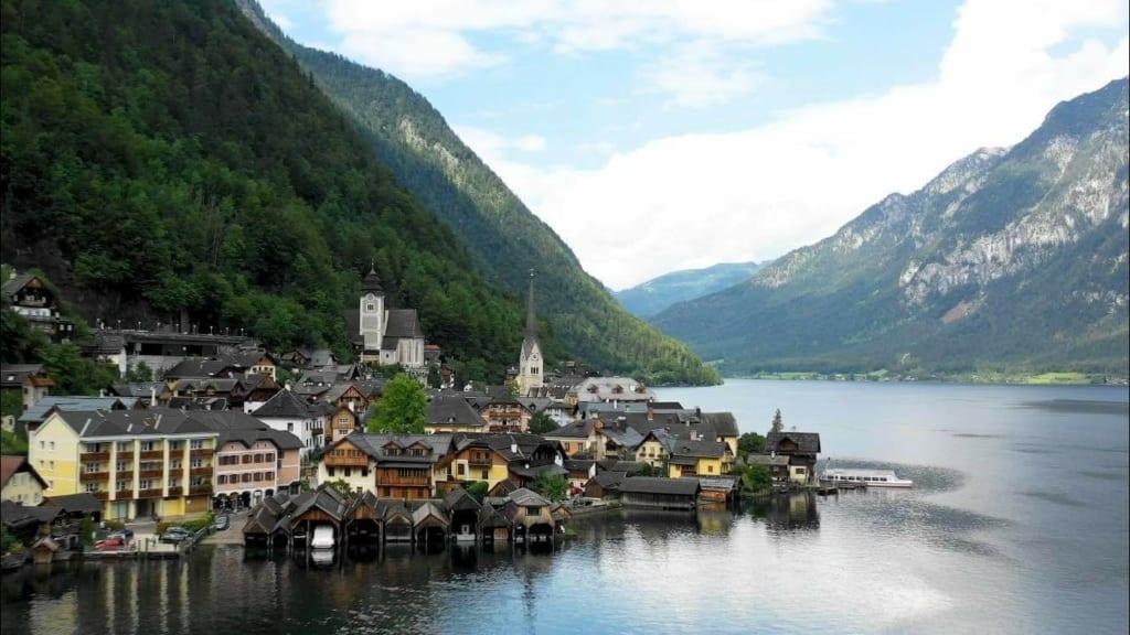 Hallstatt Town Lake