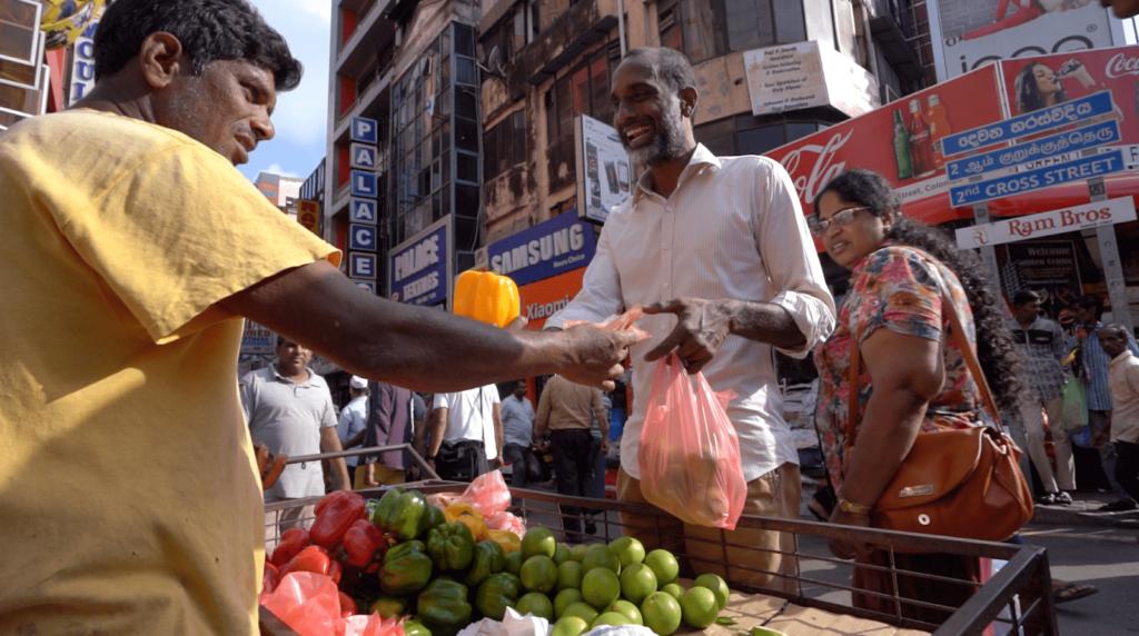 Colombo Street vendor Sri Lanka